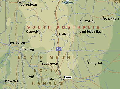 South australia maps and directions